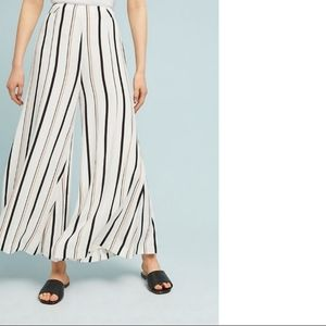 Anthropologie Manon Flared Striped Pants 6